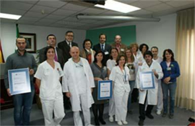 Personal del hospital recibe la acreditación ACSA