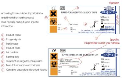 Formol Prellenado Diapath suministrado por ICSA