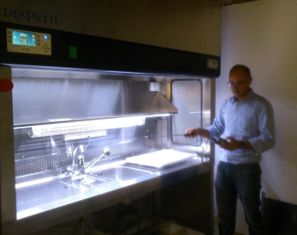 Las mesas de tallado Zefiro instaladas por ICSA permitirán una reducción de la toxicidad en la sala de tallado