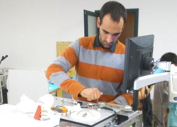 Jorge Mallorca técnico del servicio técnico de ICSA