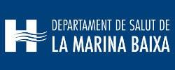 Logo Departament de Salut de la Marina Baixa