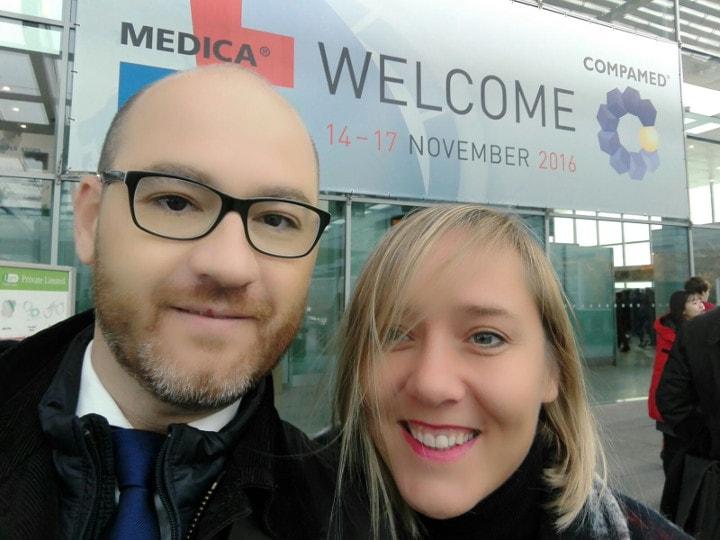 ICSA en Medica 2016 Tradefair